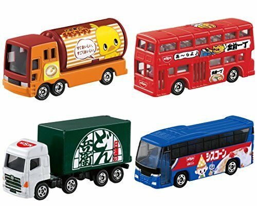 TAKARA TOMY TOMICA GIFT NISSIN AD CAR SET NEW from Japan F/S