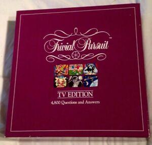 Trivial-Pursuit-TV-Edition-Television-1988-Parker-Board-Game-Quiz