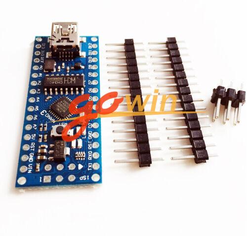 5PCS Nano V3.0 ATmega168 CH340G mini USB compatibile Arduino NANO