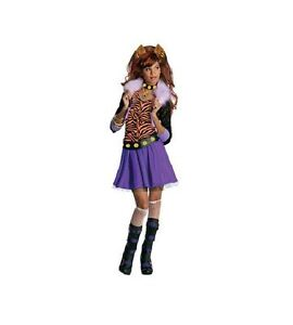 Monster-High-Clawdeen-Wolf-Girls-Costume-Size-8-10-Halloween-Outfit-NEW