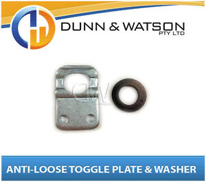 Anti-Luce-Rattle-Fastener-Caravan-Horse-Float-Camper-Trailer-Toggle-Plate