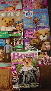 7-Assorted-teddy-bear-magazines-with-approximately-17-bear-amp-clothing-patterns