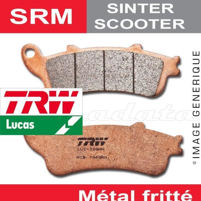 Plaquettes de frein Avant TRW Lucas MCB 712 SRM pour SYM HD 125 04-07
