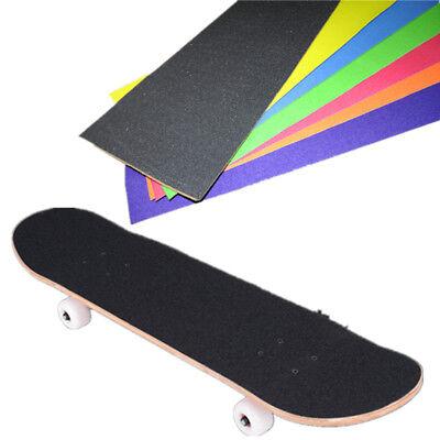 Colorful Skateboard Deck Sandpaper Grip Tape Griptape Skating Sticker Board B8L6