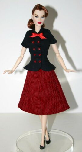 """Agency Classic Doll Clothes Sewing Pattern 12.5/"""" Fashion Royalty East 59th Dolls"""