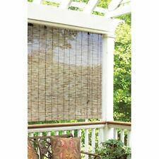 """Outdoor Patio Garden Reed Wood Roll Up Shade Curtain Window Blind Natural 48x72"""""""