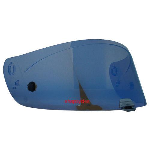 Visor HJ-20P Blue Mirror For R-PHA 10 PLUE,Pinlock Ready HJC Helmet Shield