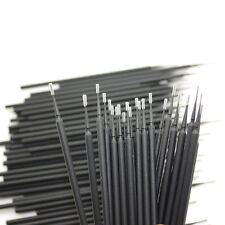 400 Pcs Dental Disposable Micro Applicator Brush Black Size 12 Mm