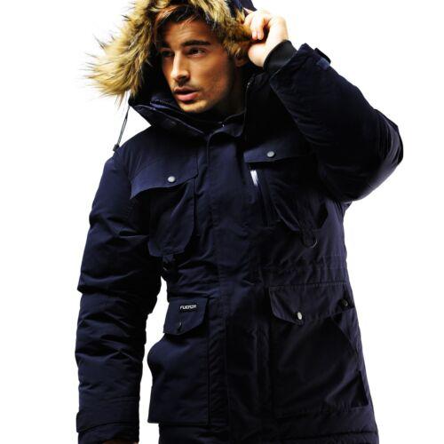 Navy Winter punto Pequeño tipo chaqueta Warm Down Abrigo Premium Dark Navy Parkon de Wellon xwO1vtqn