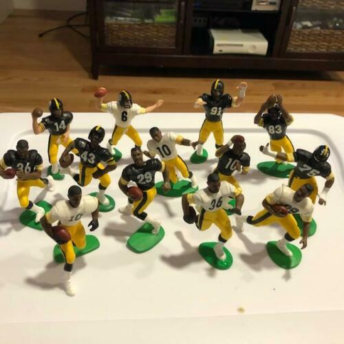 Temps 6 SB Champions Pittsburgh Steelers 1988-2000 Starting Lineup Figures open