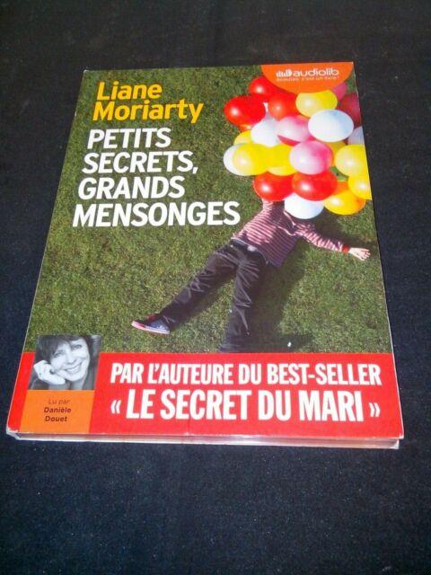 Liane Moriarty - Petits secrets, grands mensonges - Livre audio 2 CD MP3