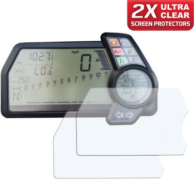 Ultra Clear Ducati Multistrada 2010-14 Protecteur d/écran Dashboard//Instrument Cluster