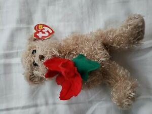 Genuine Original Ty Beanie Baby - 2005 Holiday Teddy Bear - Ty Beanie Babies