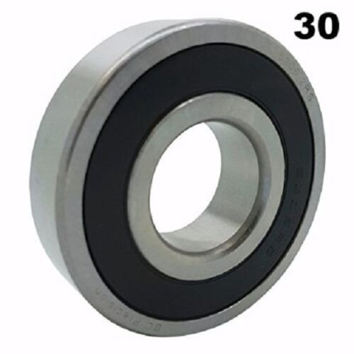 63062RS Sealed Bearings 30x72x19 Ball Bearings PreLubricated Pack of 30