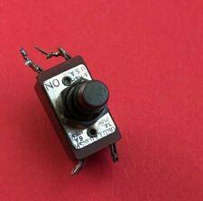 Vintage Arrow Hamph Momentary Pushbutton Switch Dpdt Und Lab Insp 3a250v 6a125v