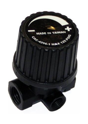 Porter Cable Air Compressor Replacement 3-Port Regulator # CAC-4296-1