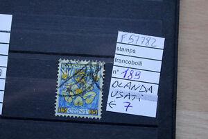 FRANCOBOLLI-STAMPS-N-189-OLANDA-USATI-F57782