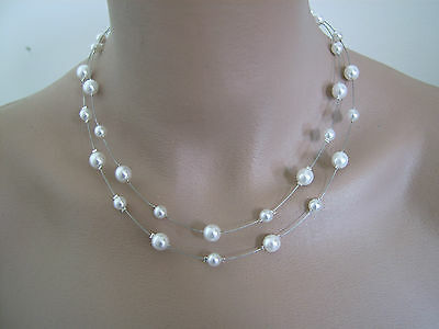 collier perle mariee