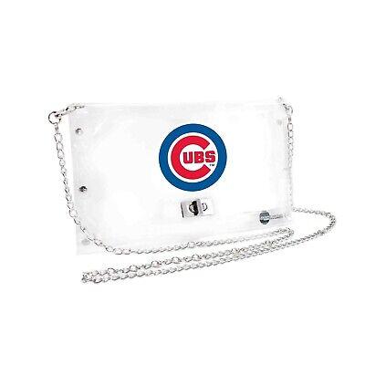 Sport Modestil Chicago Cubs Durchsichtiger Umschlag Geldbörse,mlb Crossbody Stadion Geprüft ZuverläSsige Leistung