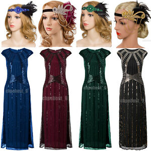 1920s-Flapper-Dresses-Gatsby-Party-Wedding-Evening-Womens-Costume-Plus-Size-8-20