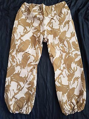 "Trustful New British Desert Goretex Trousers Xxl Long 44"" W 35"" L 90/112/128 Mvp Dpm Arm Uniforms & Bdus"