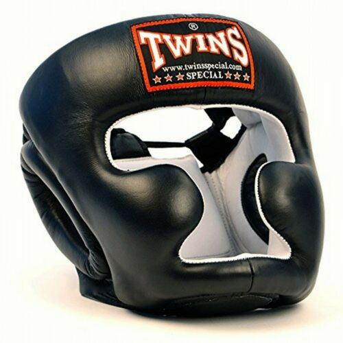 Twins Special HGL-3 HEAD GUARD COVER MUAY THAI KICK BOXING Headgear Sporting