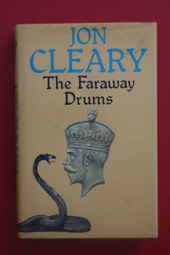 1 of 1 - THE FARAWAY DRUMS by Jon Cleary - Collins (HC/DJ, 1981)