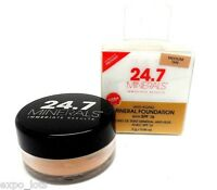 24.7 Minerals Anti-aging Mineral Foundation Spf 16 Medium Tan 0.06 Oz