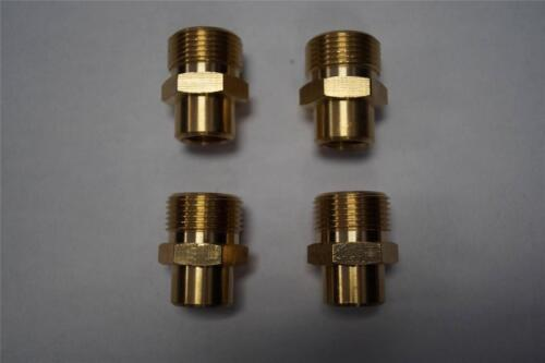 BRASS M22 SCREW TYPE X 1//4 FNPT PRESSURE WASHER FITTINGS 85.300.126