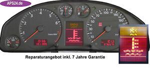 Audi-A6-4B-Display-Pixelfehler-FIS-defekt-Tacho-Reparatur-Kombiinstrument