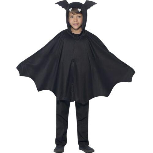 Bat Cape Kinder Halloween Fledermaus Umhang Kind Fledermausflügel Poncho Kapuze