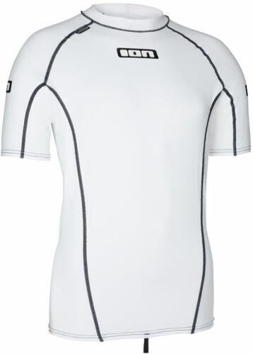 Wassersport Shirt Lycra ION PROMO SS Lycra 2020 cool white T-shirt Schwimmshirt