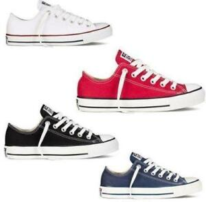 ALL-STARs-Women-Lady-Chuck-Taylor-Ox-Low-High-Top-shoes-Casual-Canvas-Sneakers-A