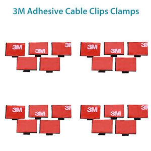 3M Adhesive Kabel Clips Klemmen Draht Tie Mount Drop Draht Halter ...