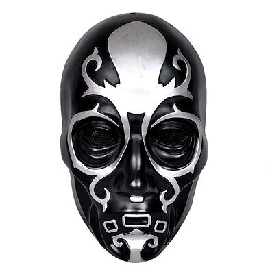 Paintball CS gun Full Face Protection Mask Harry Potter Lucius Malfoy's Mask