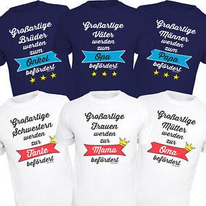 T Shirt Fur Oma Opa Papa Mama Shirts Geburt Geschenke Mutter Vater