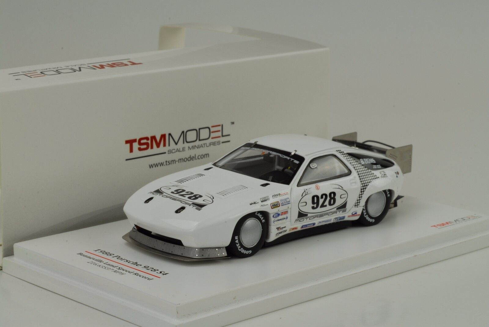 1988 porsche 928 s4 bonneville land speed record 1 43 tsm ausmaß