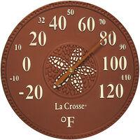 104-158m La Crosse 8 Indoor/outdoor Dial Thermometer - Maya