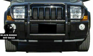 ATU Grill Brush Bumper Guard Push Bar Black for 2006 2013 Jeep Commander