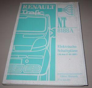 Werkstatthandbuch-Elektrik-Renault-Trafic-II-elektrische-Schaltplaene-ab-03-2001