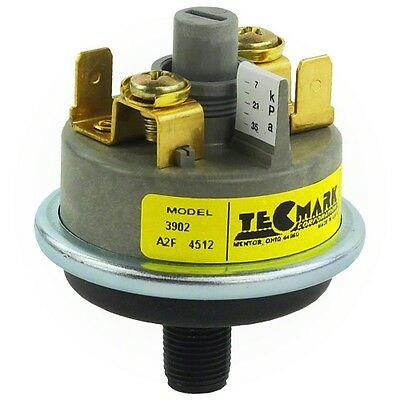 TecMark 3902 Heater Spa Pressure Switch 1 amp 1-5 PSI