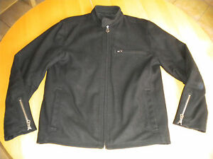 Manteau Noir GAP Taille M Lainage Blouson RARE acheté aux USA
