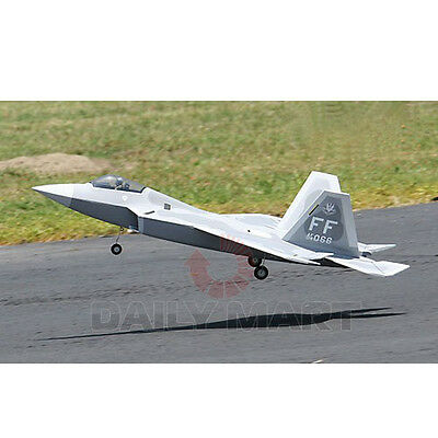 New RC Radio Electric EDF Jet Plane F-22 Remote Controlled RAPTOR ARF