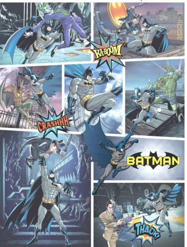 Carta da parati bambini personaggio disney batman design fumetto BT 9001-1 Comic
