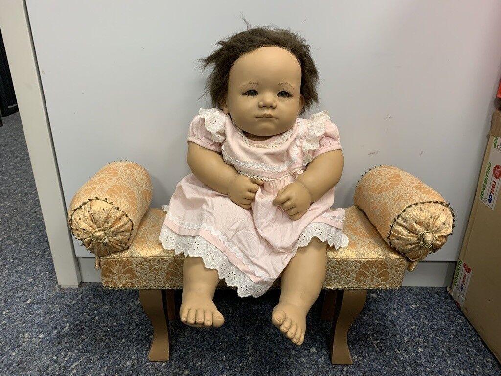 Annette Himstedt Puppe Taki 56 cm. top Zustand.