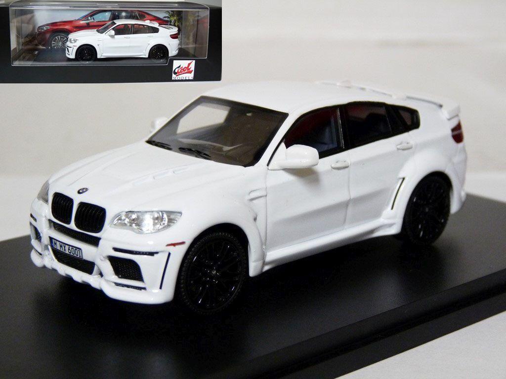 Ccool PREMIUM X AY0001 1 43 BMW X6 Hamann Diecast Voiture Modèle