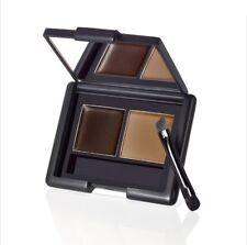 E67 E.L.F Cosmetics  Eyebrow Kit, Powder, Dark  sopracciglia   elf