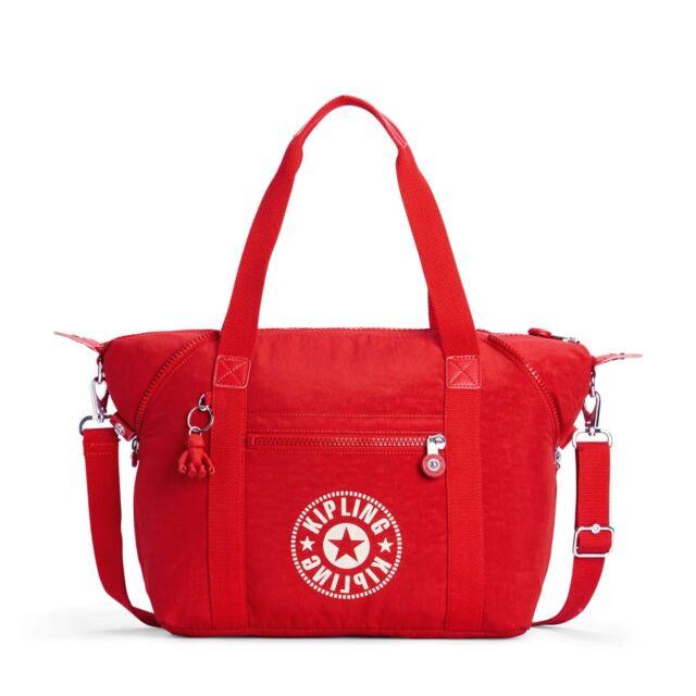 Kipling ART NEW CLASSIC Large Travel Tote Shoulder Bag LIVELY RED FW18 RRP £84