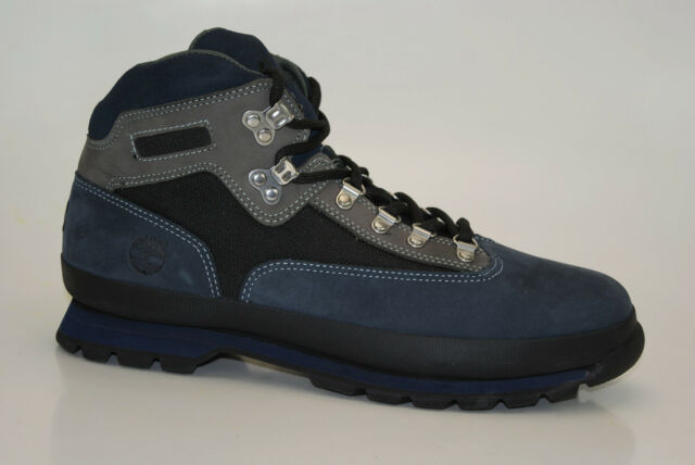 aec08e9a697 Timberland Euro Hiker BOOTS Size 44 5 US 10 5m Men's Hiking Shoes Lace up