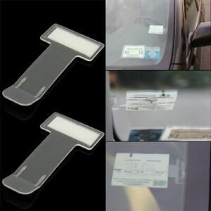 5pcs-Car-Vehicle-Parking-Ticket-Permit-Card-Ticket-Holder-Clips-Accessories